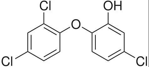 三氯生广泛应用于卫生消费品中,特别是抗菌、抗真菌洗手液和抗菌肥皂。